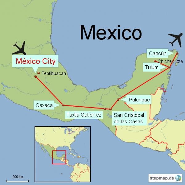Mexico_Südwest-Rundreise