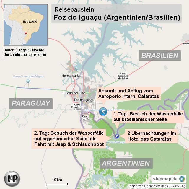 BrasilienReise: Foz do Iguaçú – das Cataratas