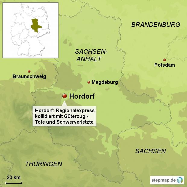 Zugunglück Hordorf