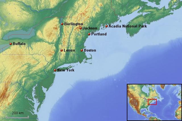 USA Neuengland 2008