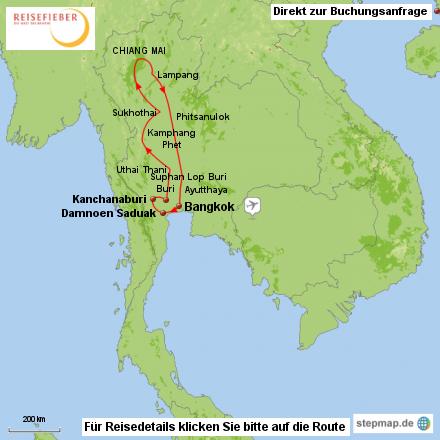 Rundreise Norden von Thailand