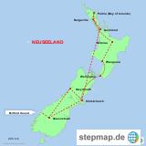 Neuseeland, Nord- und Südinsel
