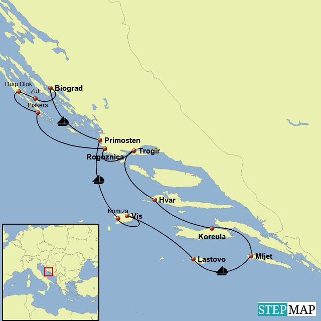 Segeln Kroatien 2007