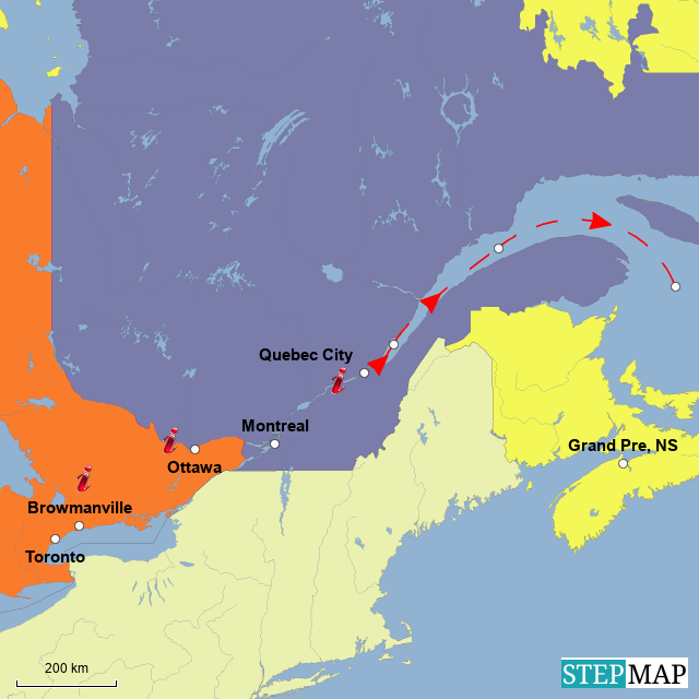 Gruppe 8 Kanada