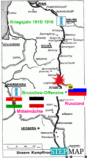 Gruppe 6 Kriegsfront 1915
