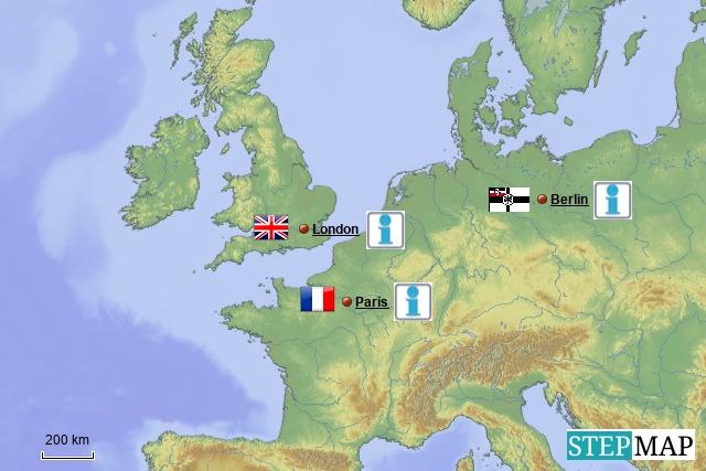 Gruppe 7 Kriegspropaganda in Europa