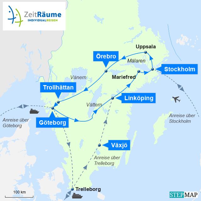 1012 - Schweden Auto Rundreise - Schweden Insight