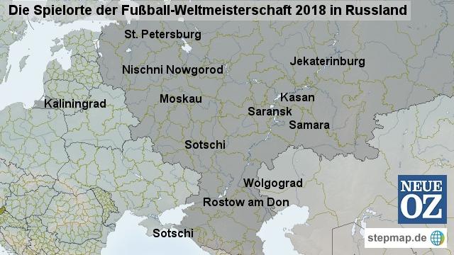 wo ist die nächste fußballweltmeisterschaft