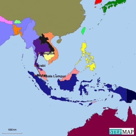 Südostasien mal wieder - aber anders und neu !
