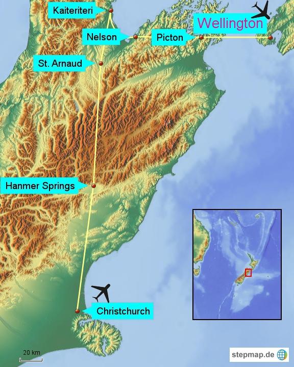 Neuseeland_Südküste