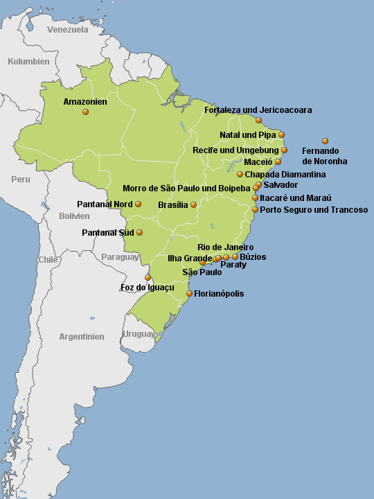 Brasilien-Hotels