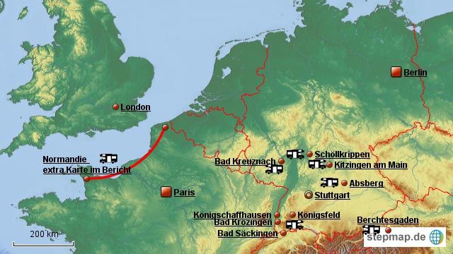 Touren 2012