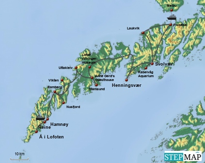 Lofoten-Route
