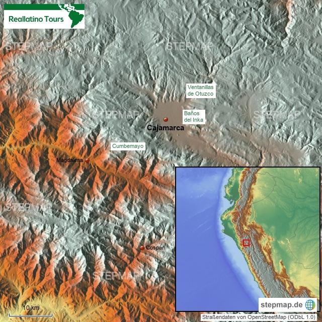 Cajamarca & Umgebung
