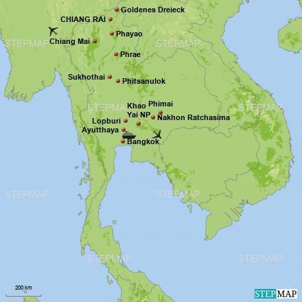 Rundreise KLASSISCHES THAILAND