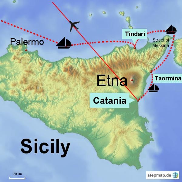 Sizilien - 3 Tage Rundreise