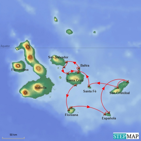Galapagos - Beagle Cruise SE