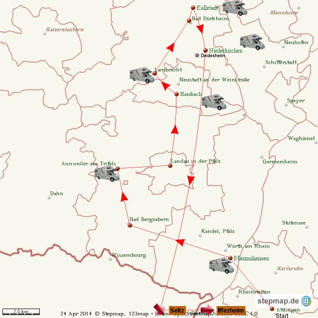 Pfalz April 2014