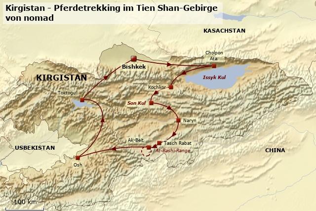 Individualreise Pferdetrekking im Tien Shan-Gebirge | nomad GmbH