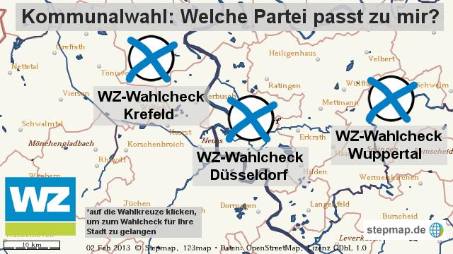 Der WZ-Wahlcheck zur Kommunalwahl
