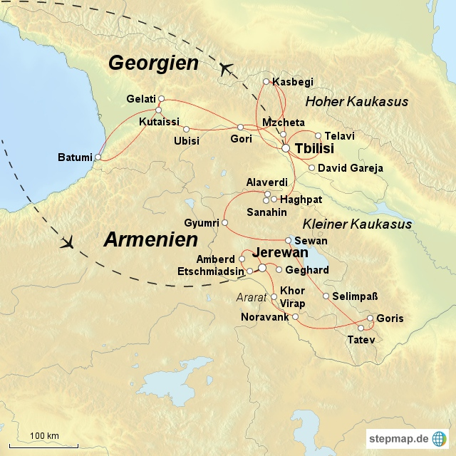 Armenien - Georgien