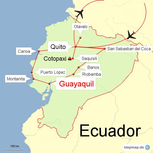 Ecuador ohne Galapagos