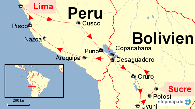 Rundreise Peru und Bolivien