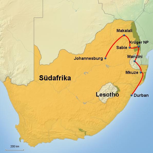 Panorama Südafrika