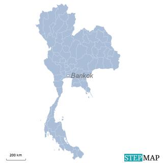 Einzelkarte Thailand