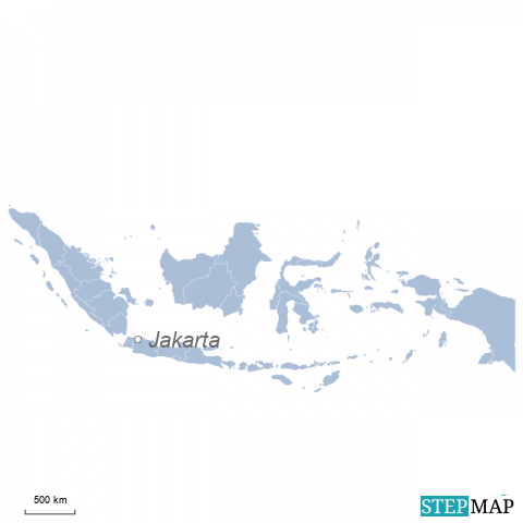 Einzelkarte Indonesien
