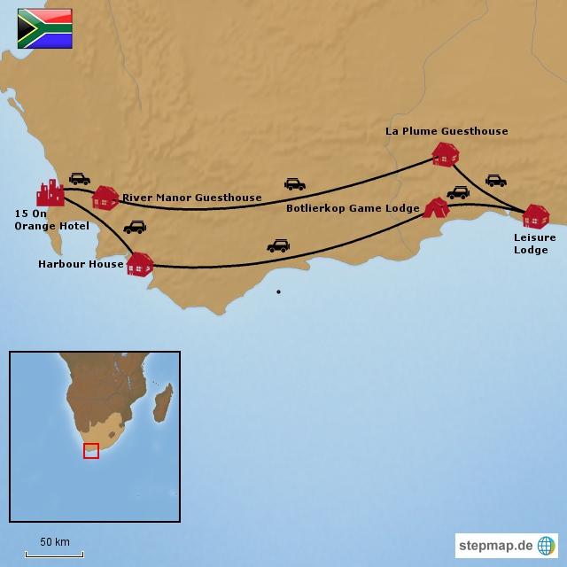 Südafrika zwischen Kap, Winelands & Gardenroute