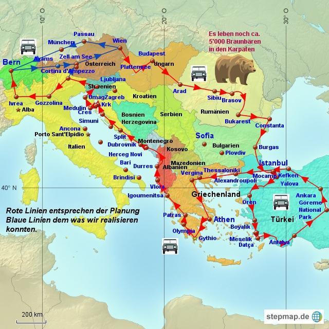 Balkanreise 2014