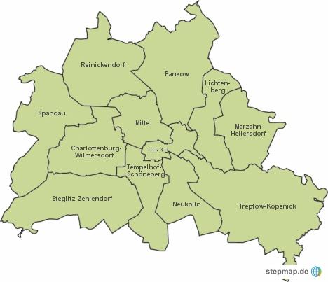 Wohnmarktreport GSW Bezirke Berlin