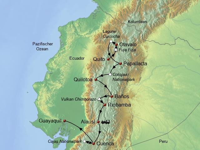 Aktiv durch Ecuador