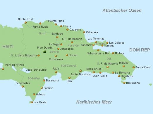 Dominikanische Republik Vorlage 1