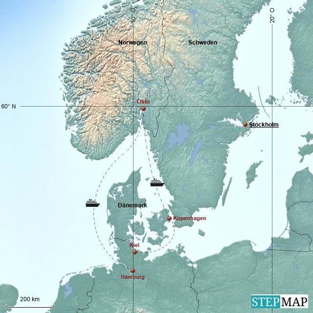 Rockliner 3 - Skandinavien 2014
