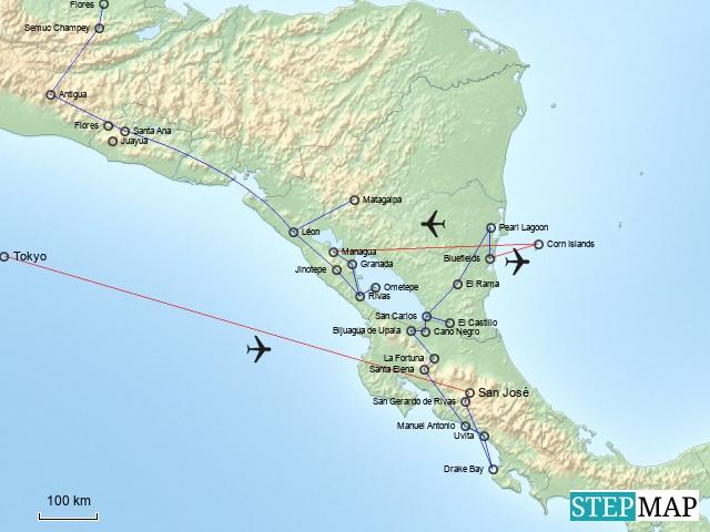 Zentralamerika Teil 1