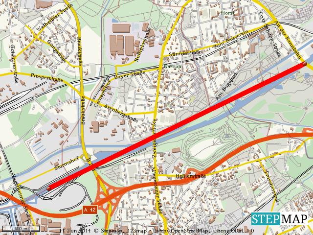 Rhein-Herne-Kanal wegen Treibgut gesperrt