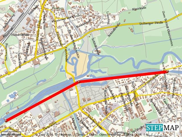 Fahrwasser Hamm bis Werries am 12. Juni 2014 wegen einer Bombenräumung gesperrt