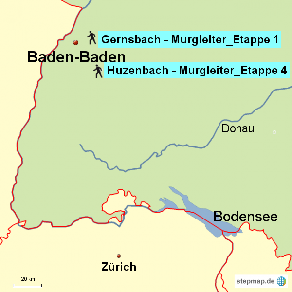 Wanderungen bei Baden-Baden
