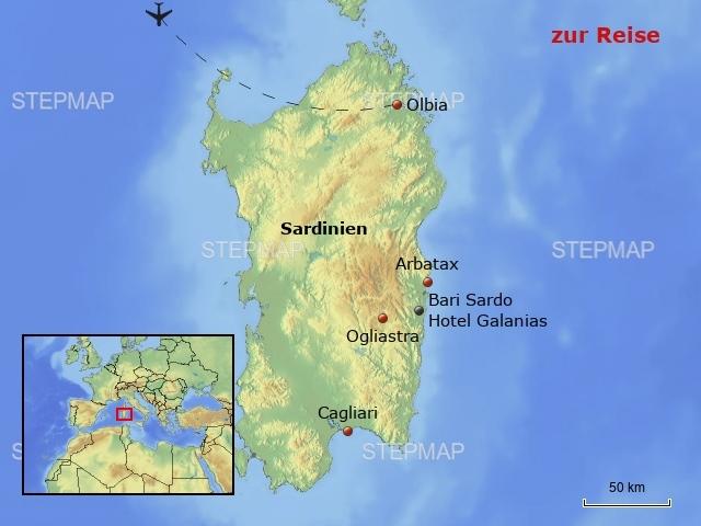 Hotel Galanias - Sardinien
