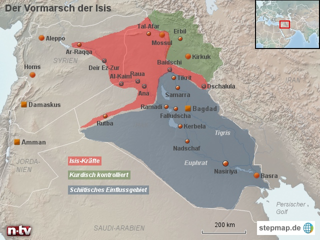 Irak: Vormarsch der Isis