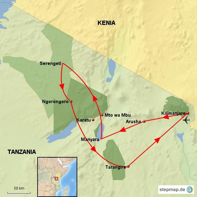 TZ Klassisches Tanzania
