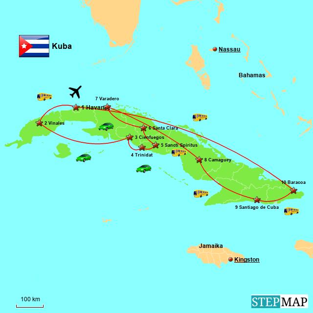 Unsere Reise durch Kuba