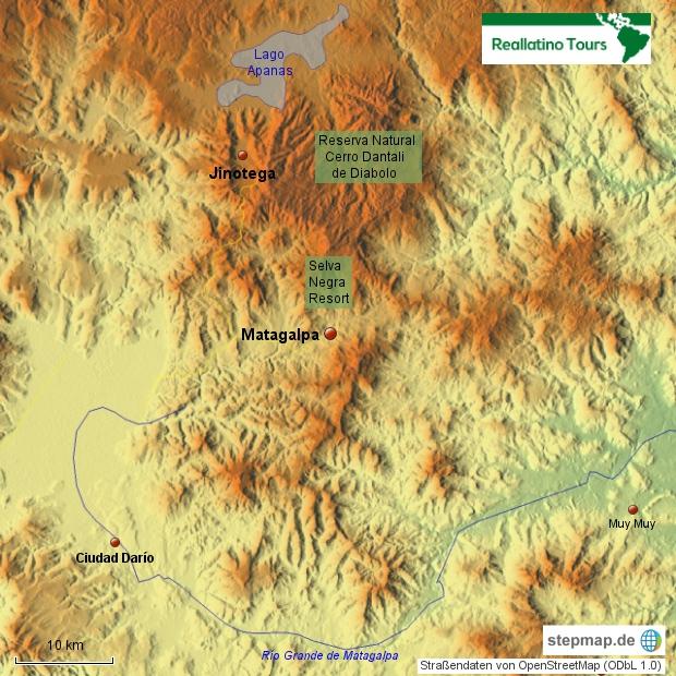 Matagalpa und Umgebung