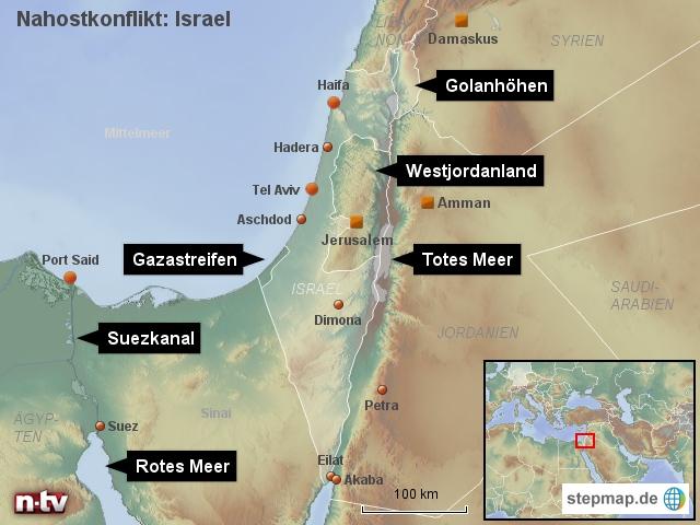 Naostkonflikt: Israel