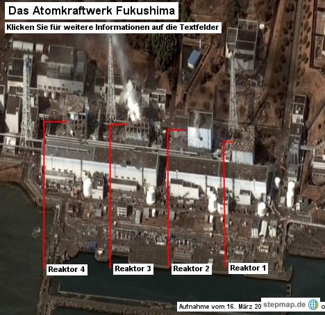 Das Atomkraftwerk Fukushima