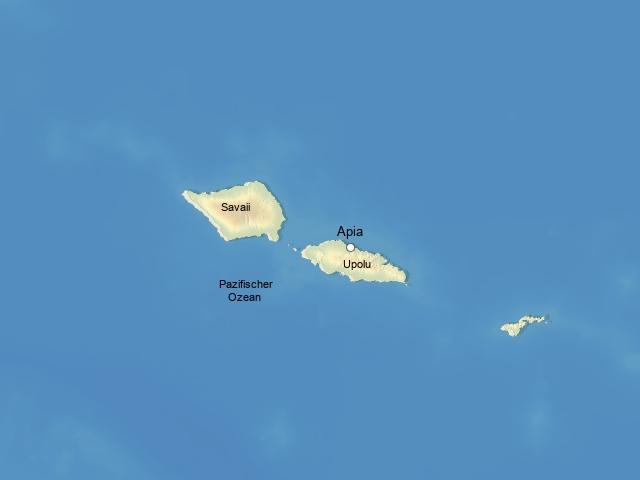Schatzinsel im Herzen des Pazifiks