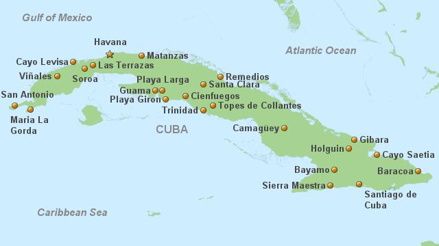 Cuba Real Tours   Hotels Cuba   À la carte Hotels Cuba