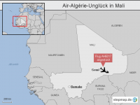 Air-Alg�rie-Ungl�ck in Mali